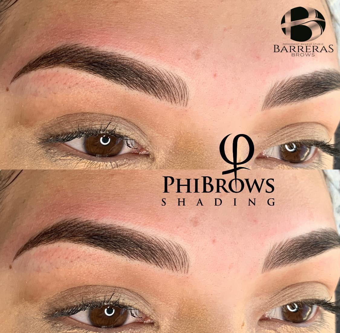 Phibrows shading Sandra Barreras